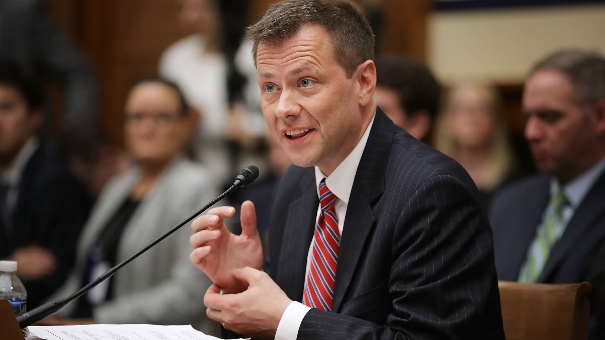 FBI fires agent who sent anti-Trump messages