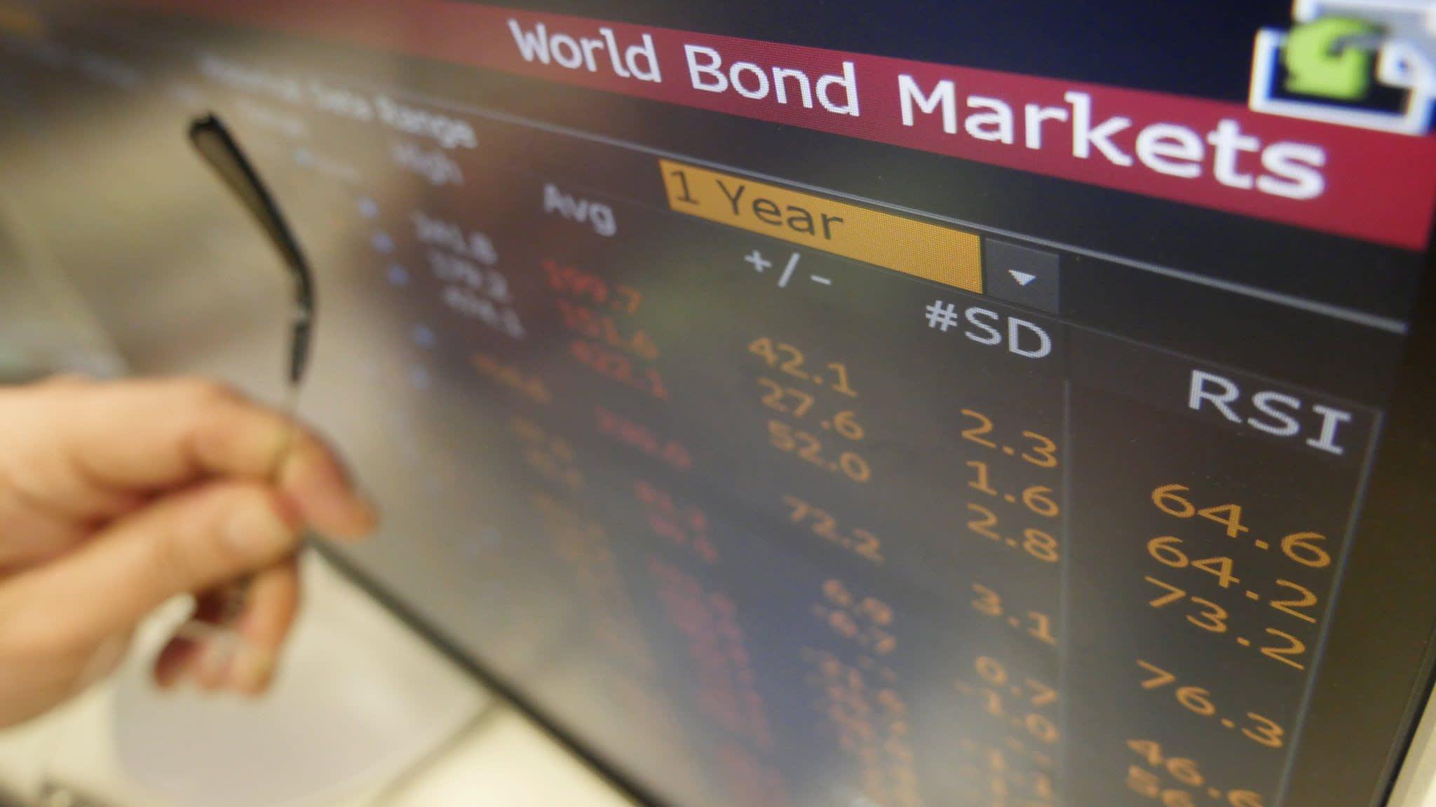 Investors signal concern over corporate credit market