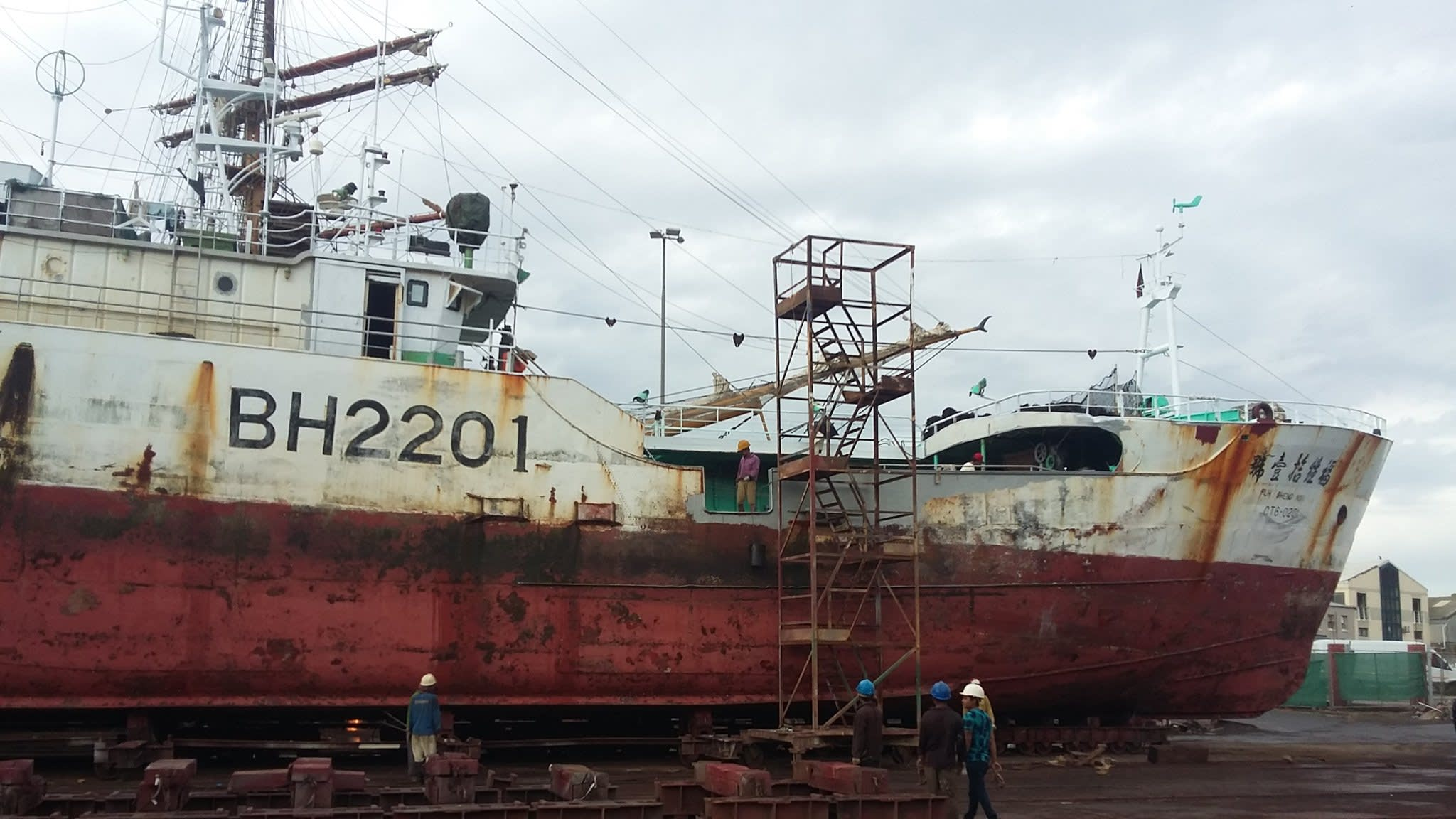 Taiwan's fishing industry faces claims of 'hell' on the high seas