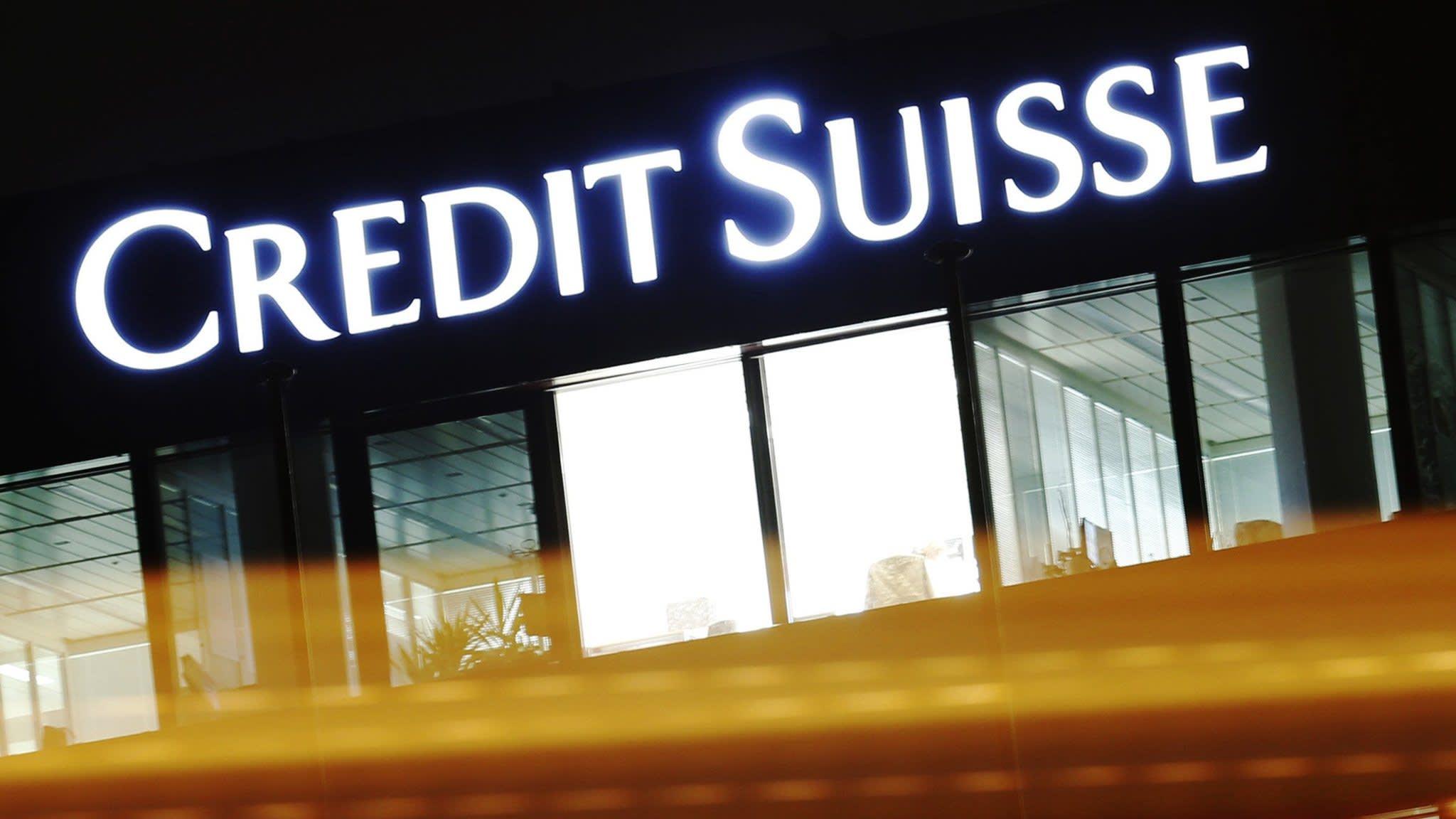 Market volatility boosts revenue at Credit Suisse