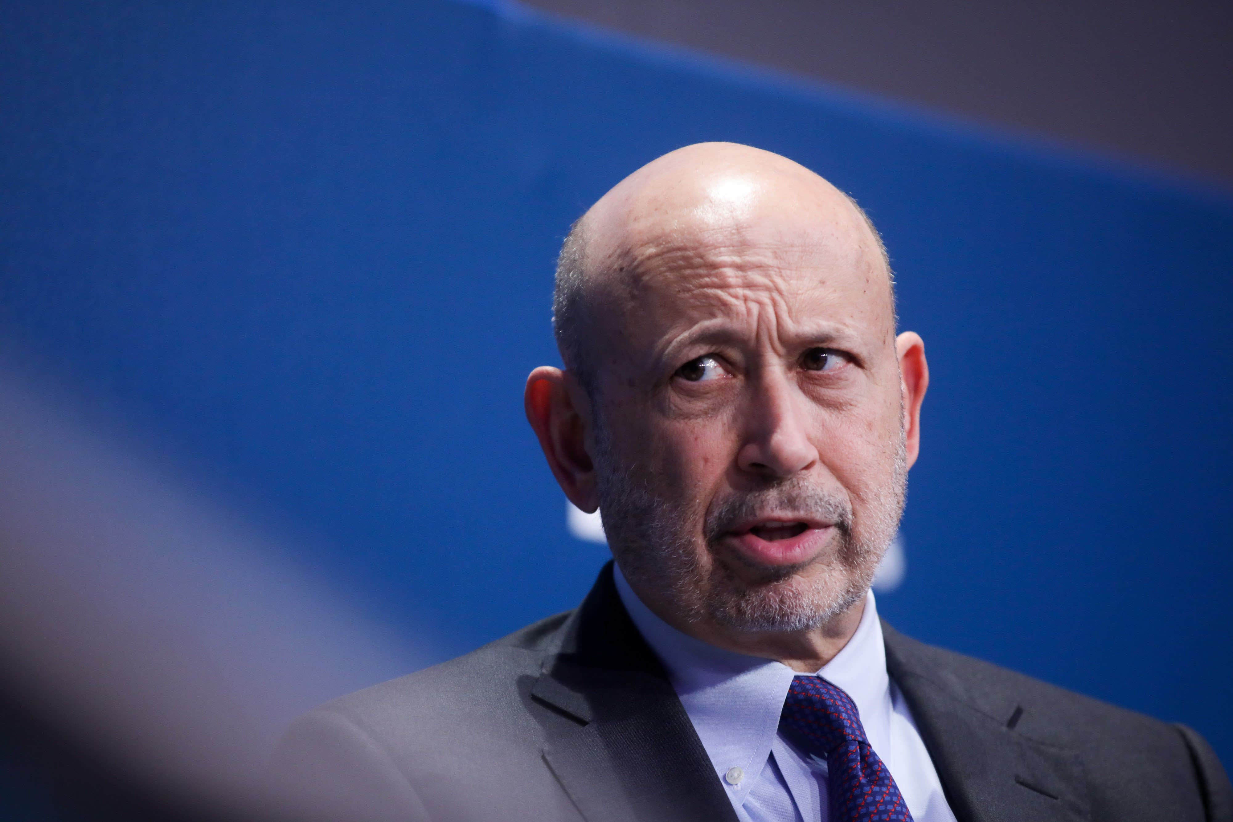 Goldman's Blankfein decries 'bitter and negative' US politics