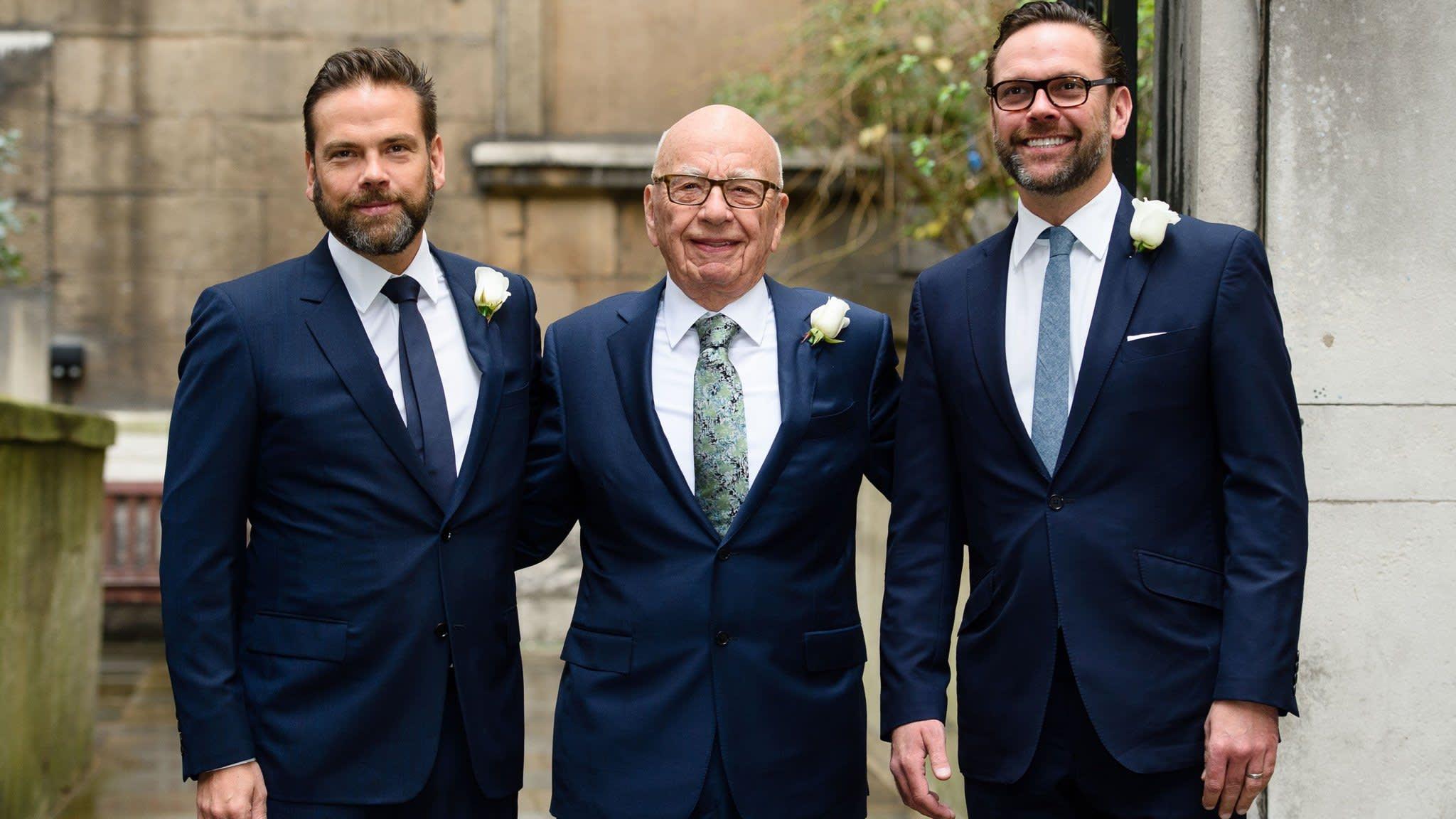 Murdoch children in line for $2bn each on media empire break-up