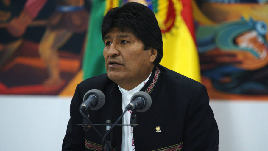 President Evo Morales accuses Bolivian opposition of plotting coup