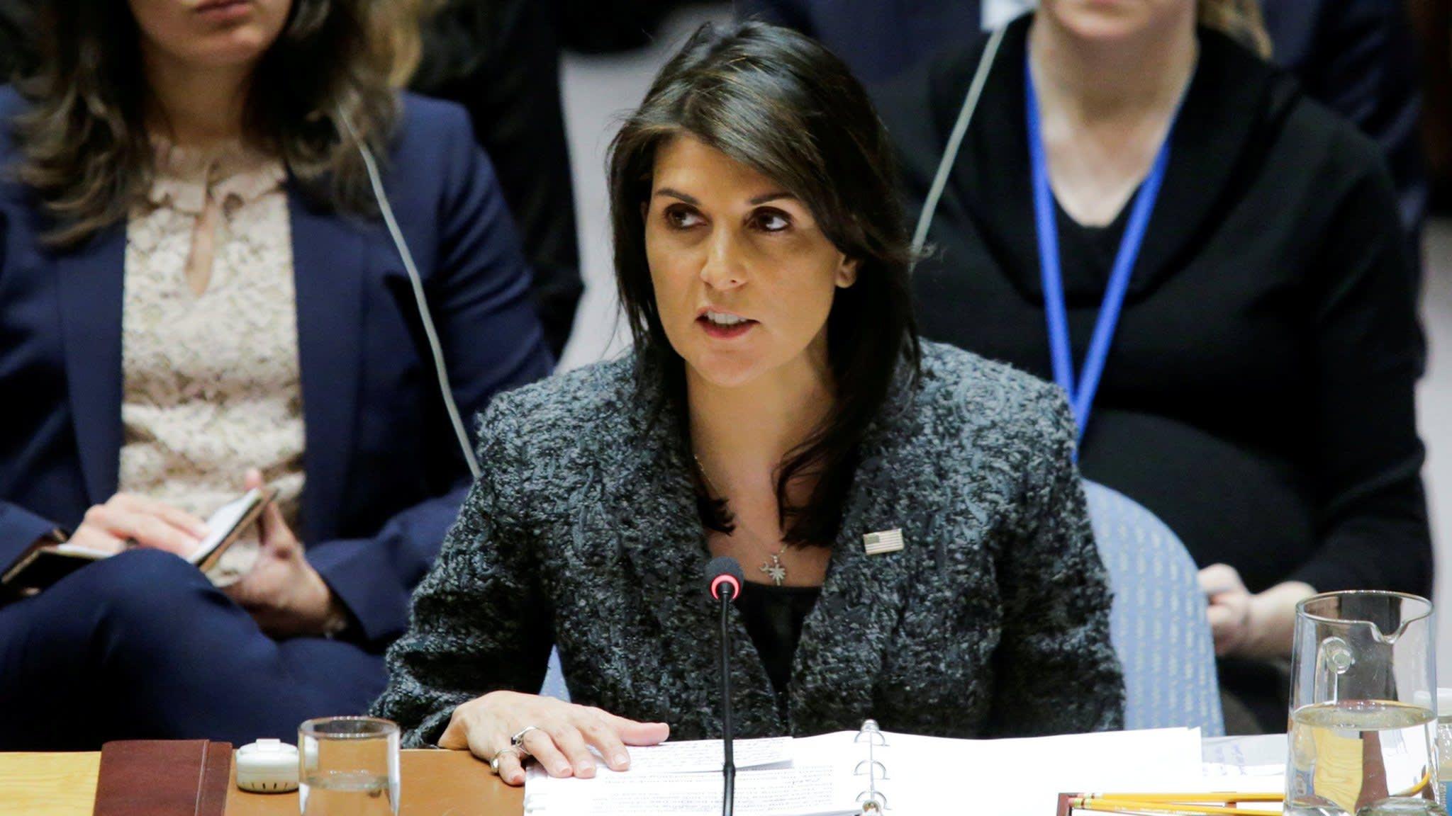 Nikki Haley resigns as US ambassador to UN