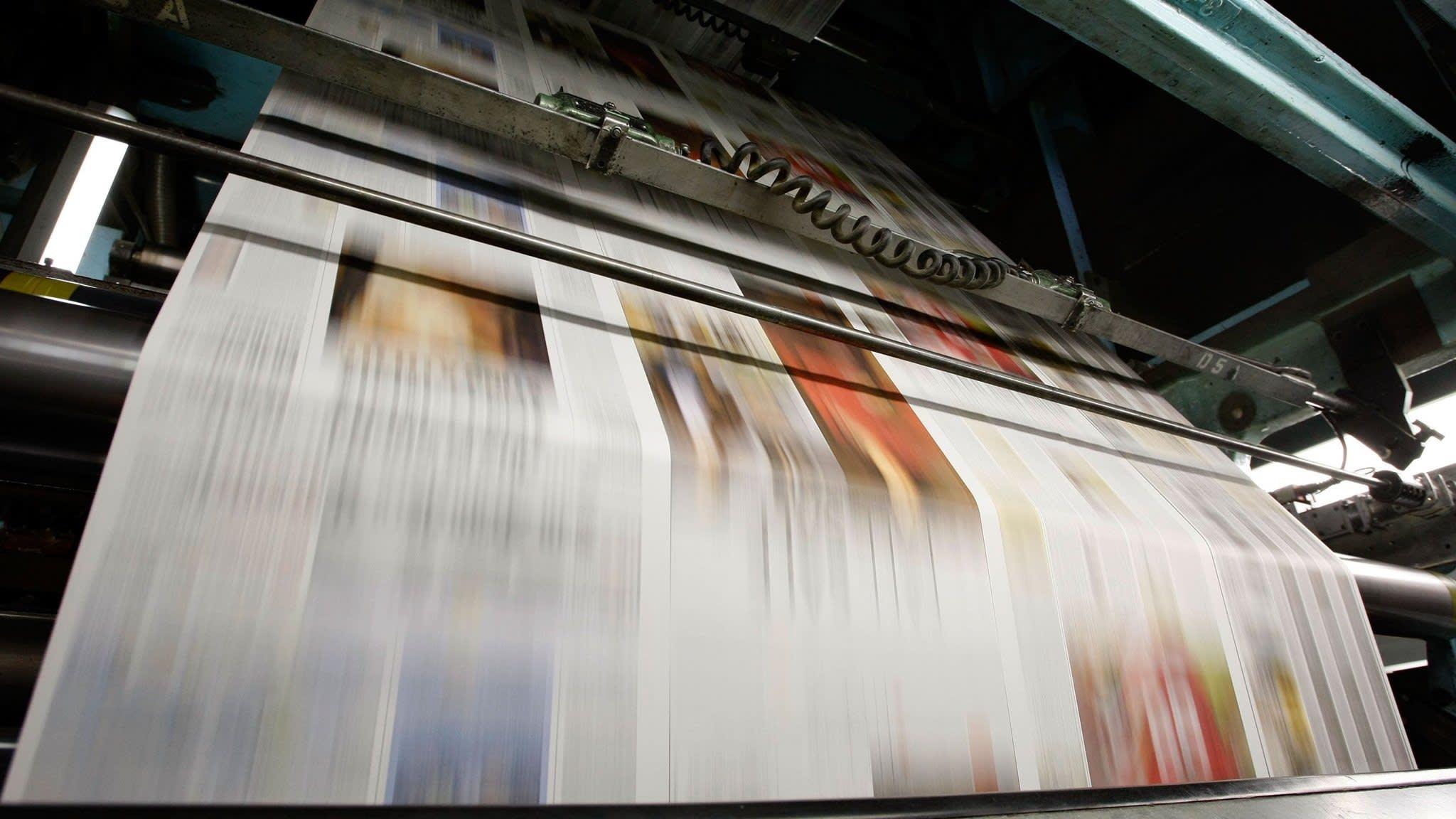 Newsprint tariffs send costs soaring for US newspapers