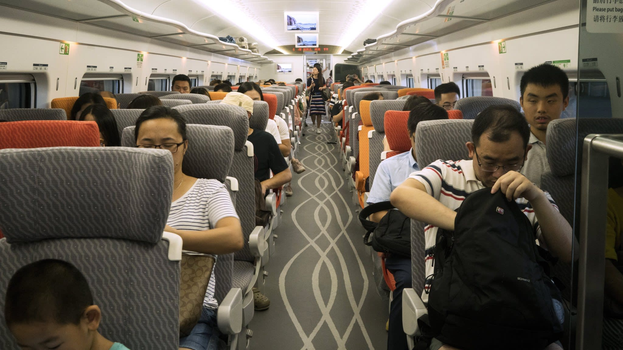 Hong Kong plugs into China's high-speed rail network