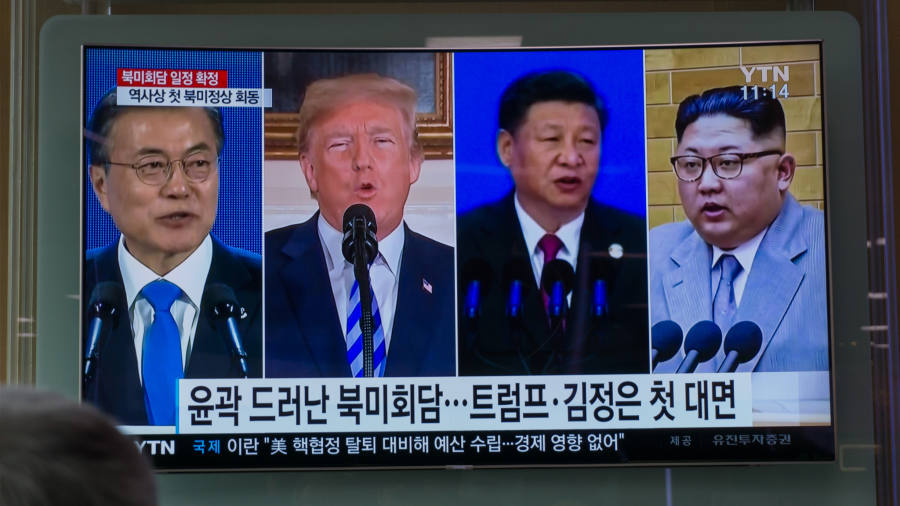US-South Korea meeting, Colombia election, Irish abortion vote
