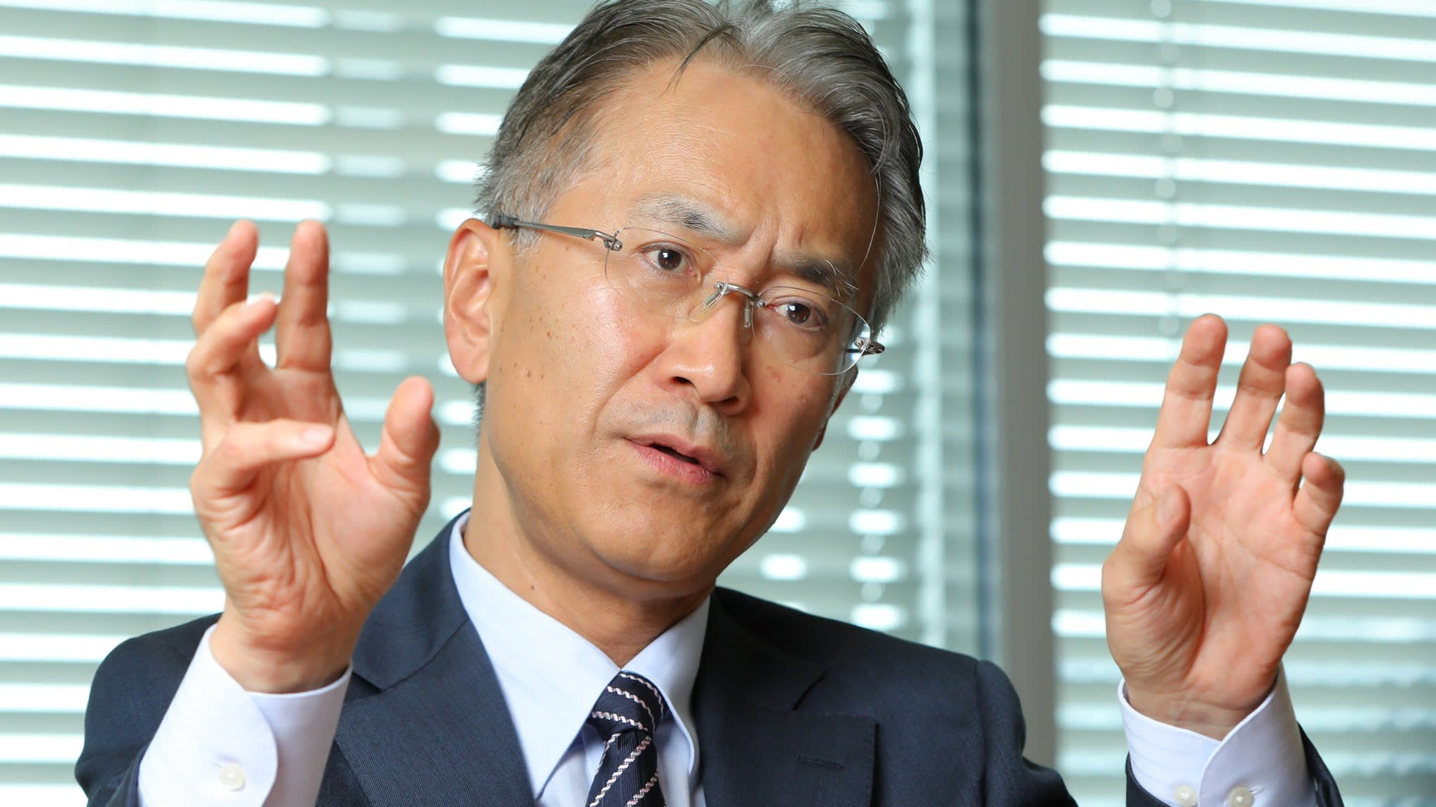 Sony chief aims to recapture spirit of innovation