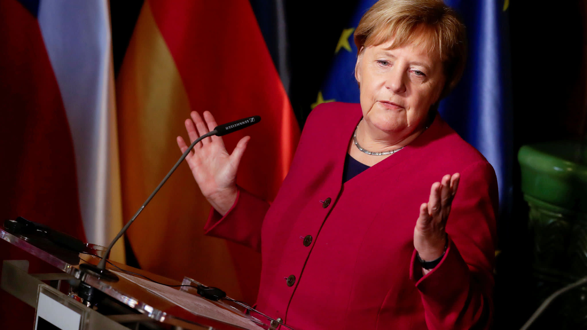 Merkel to step down as CDU chief after dismal regional elections