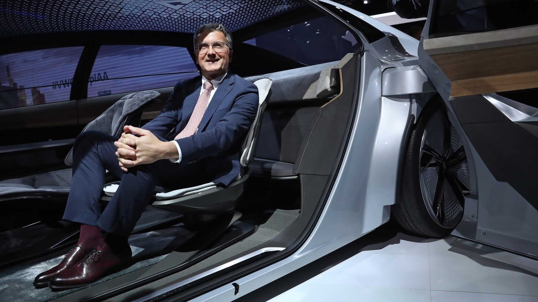 Volkswagen ousts Audi CEO Stadler