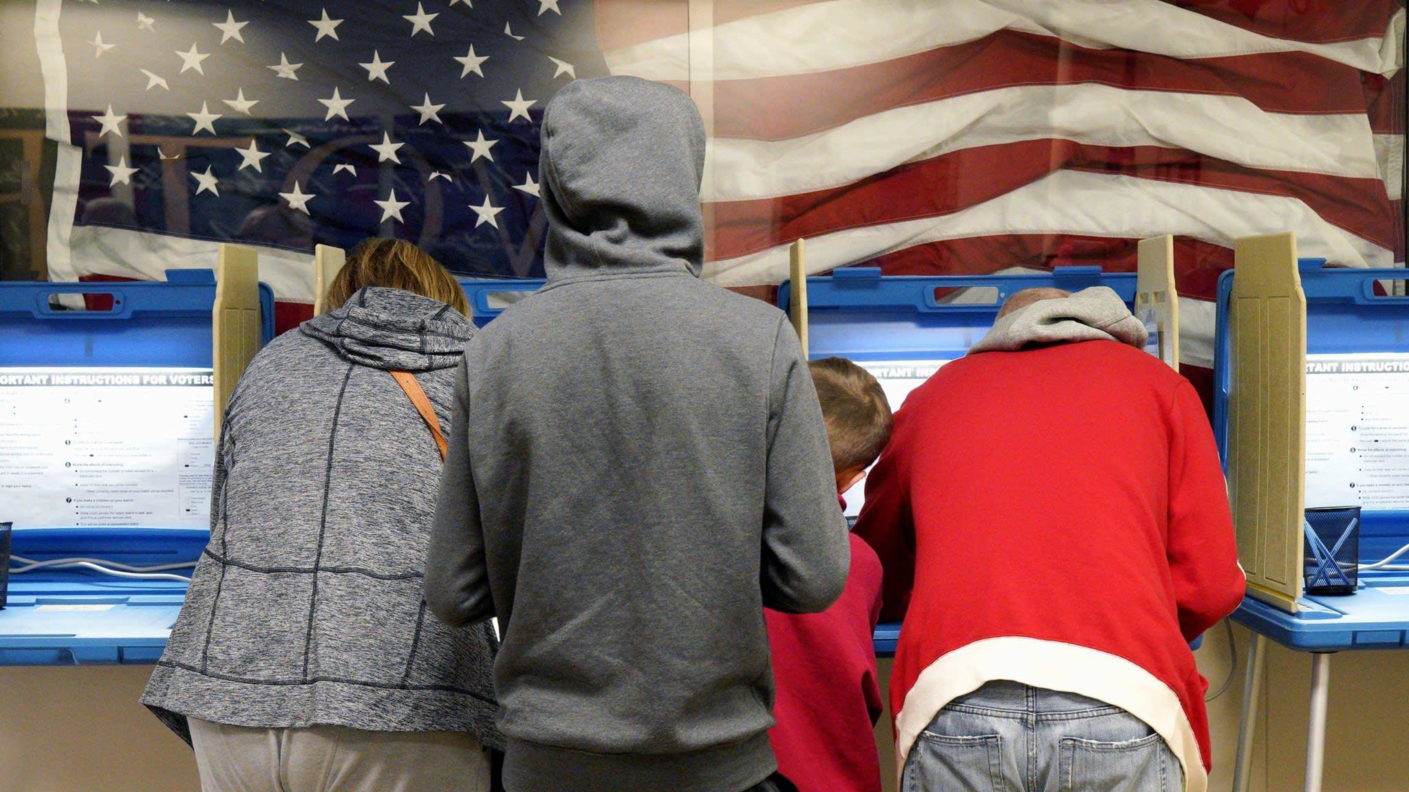US stocks leap as midterms spring few surprises