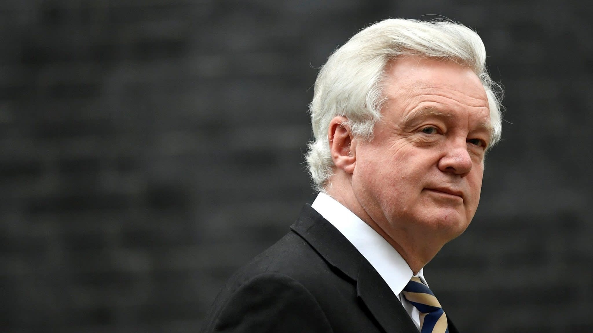 David Davis urges Theresa May to ditch Chequers plan for Brexit