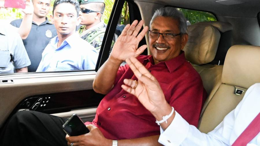 Gotabaya Rajapaksa wins Sri Lanka presidential poll