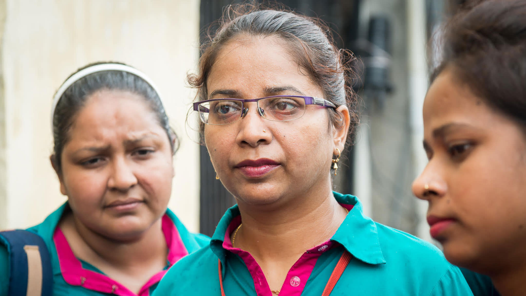 Indian women fight for their right to work