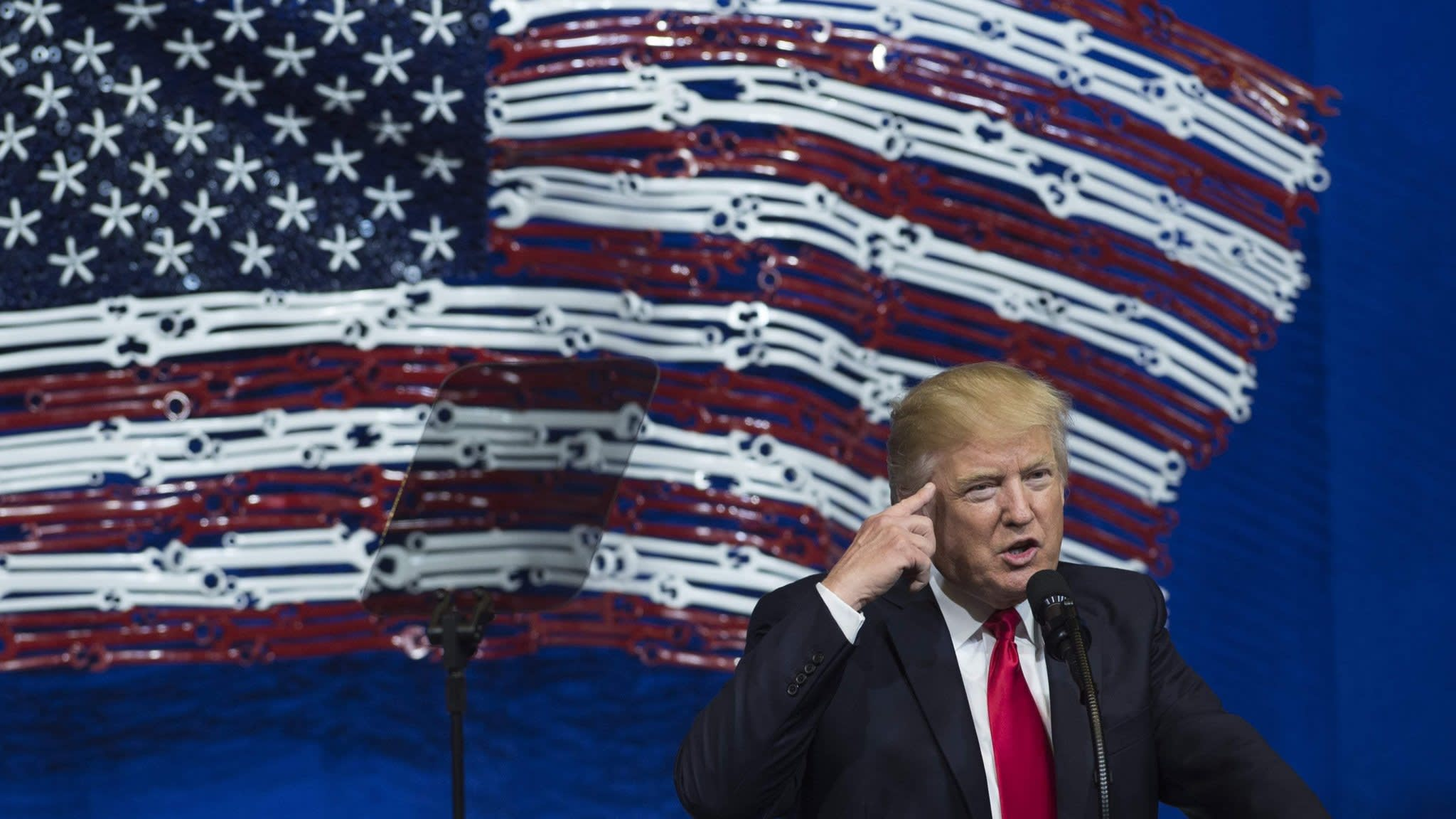 Has the market fallen out of love with Donald Trump?