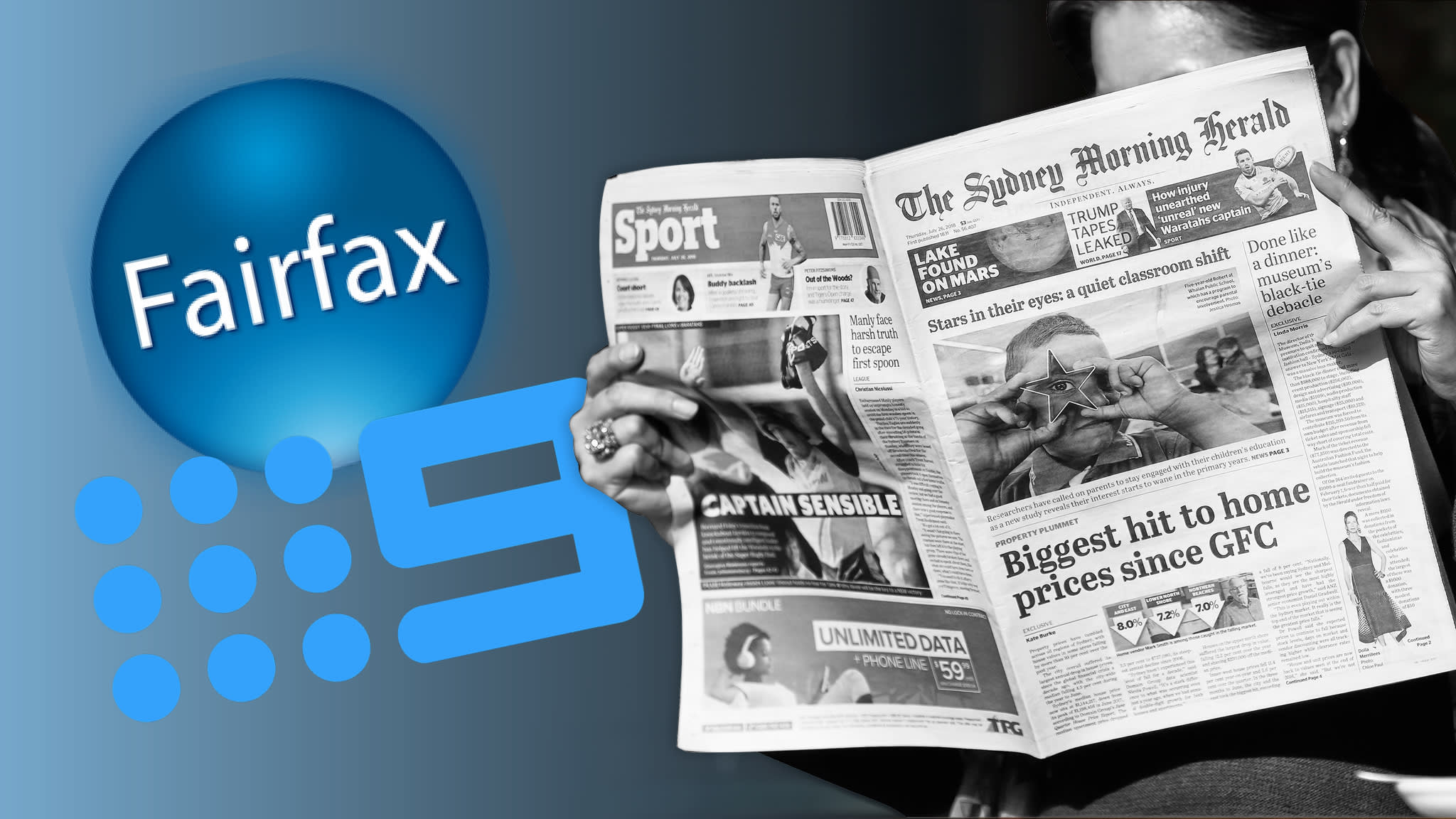 Nine bid for Australia's Fairfax sparks fears over quality