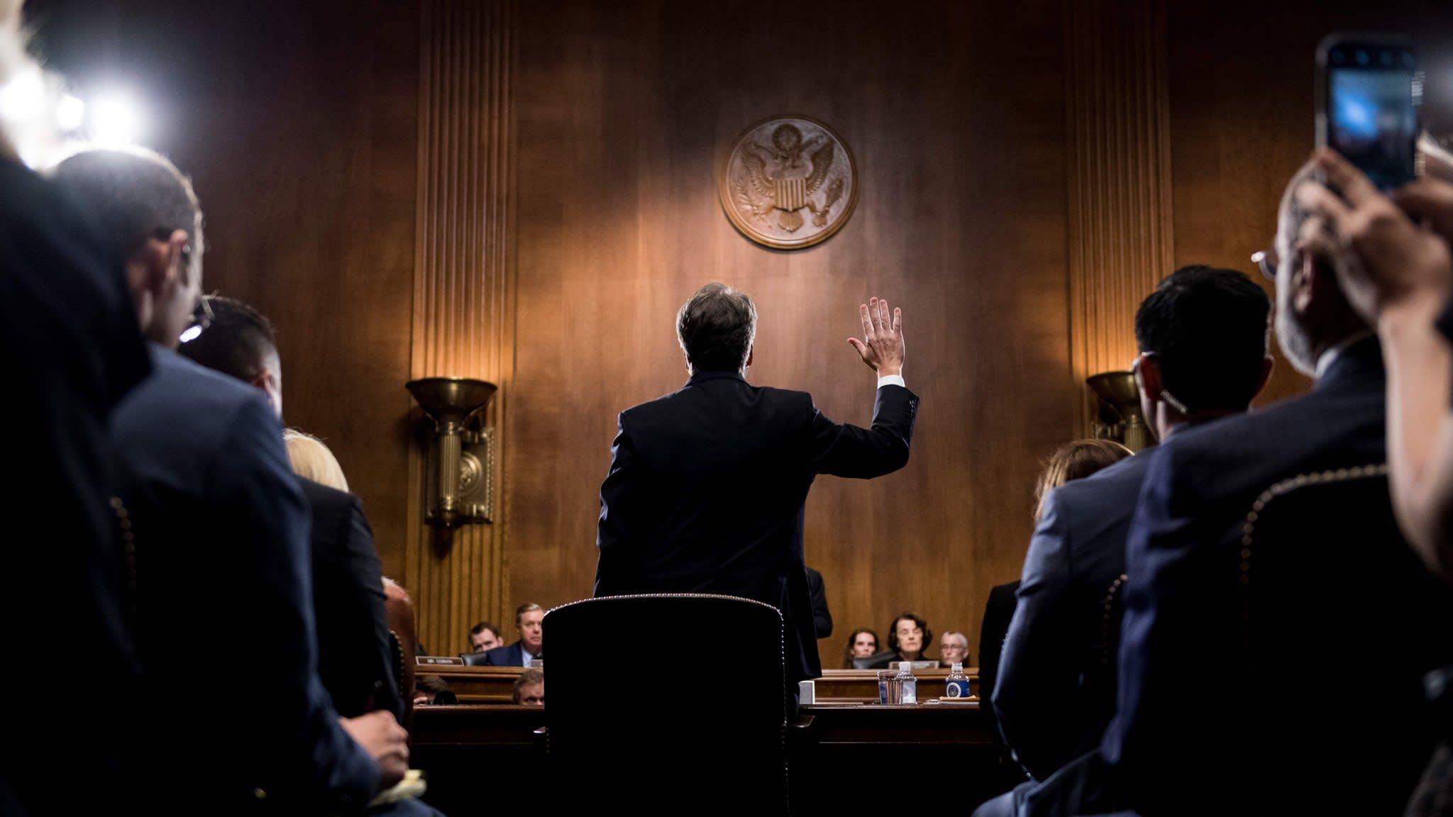 White House denies meddling in Kavanaugh probe