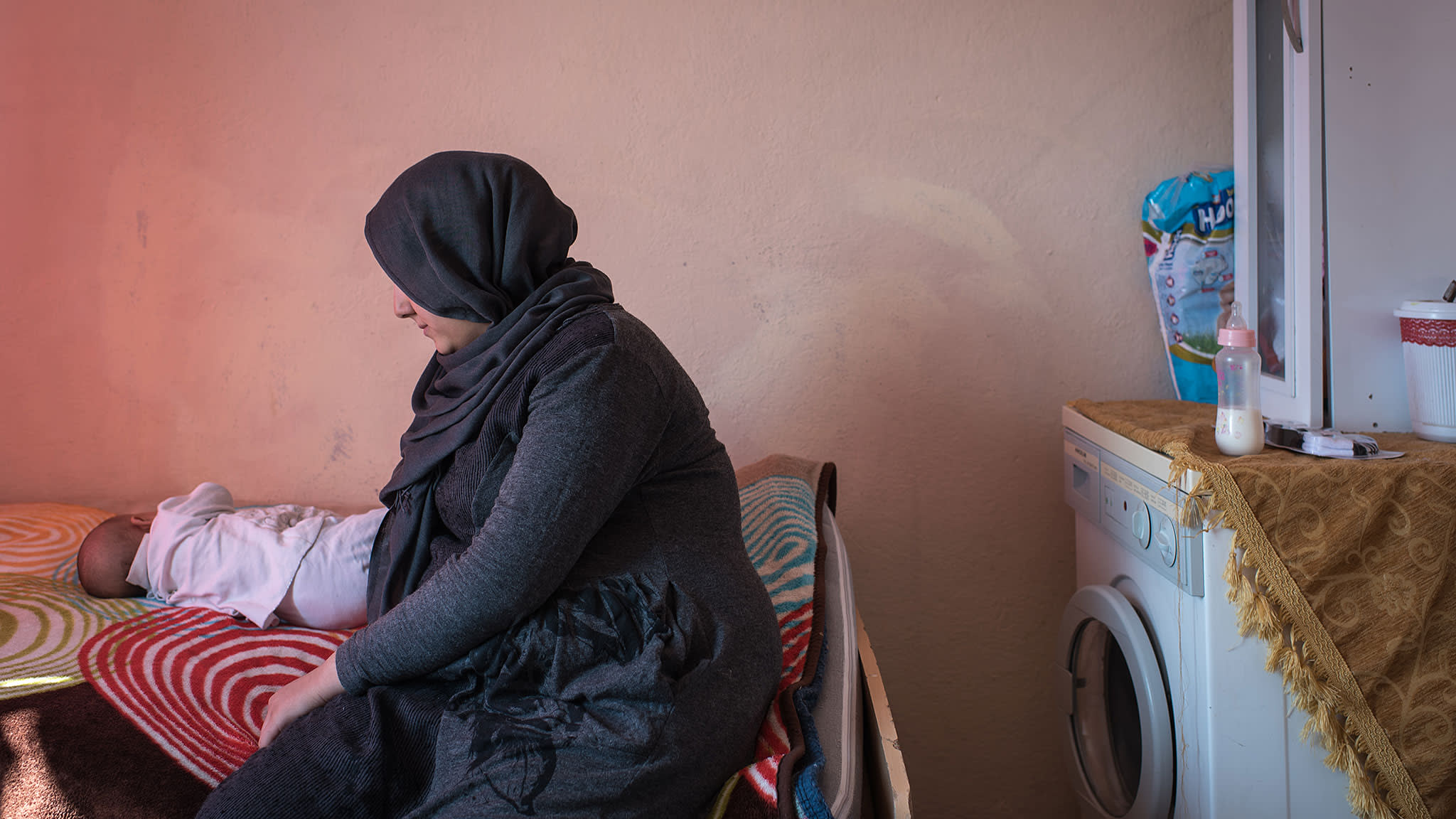 Syrian refugees married early face isolation and domestic violence