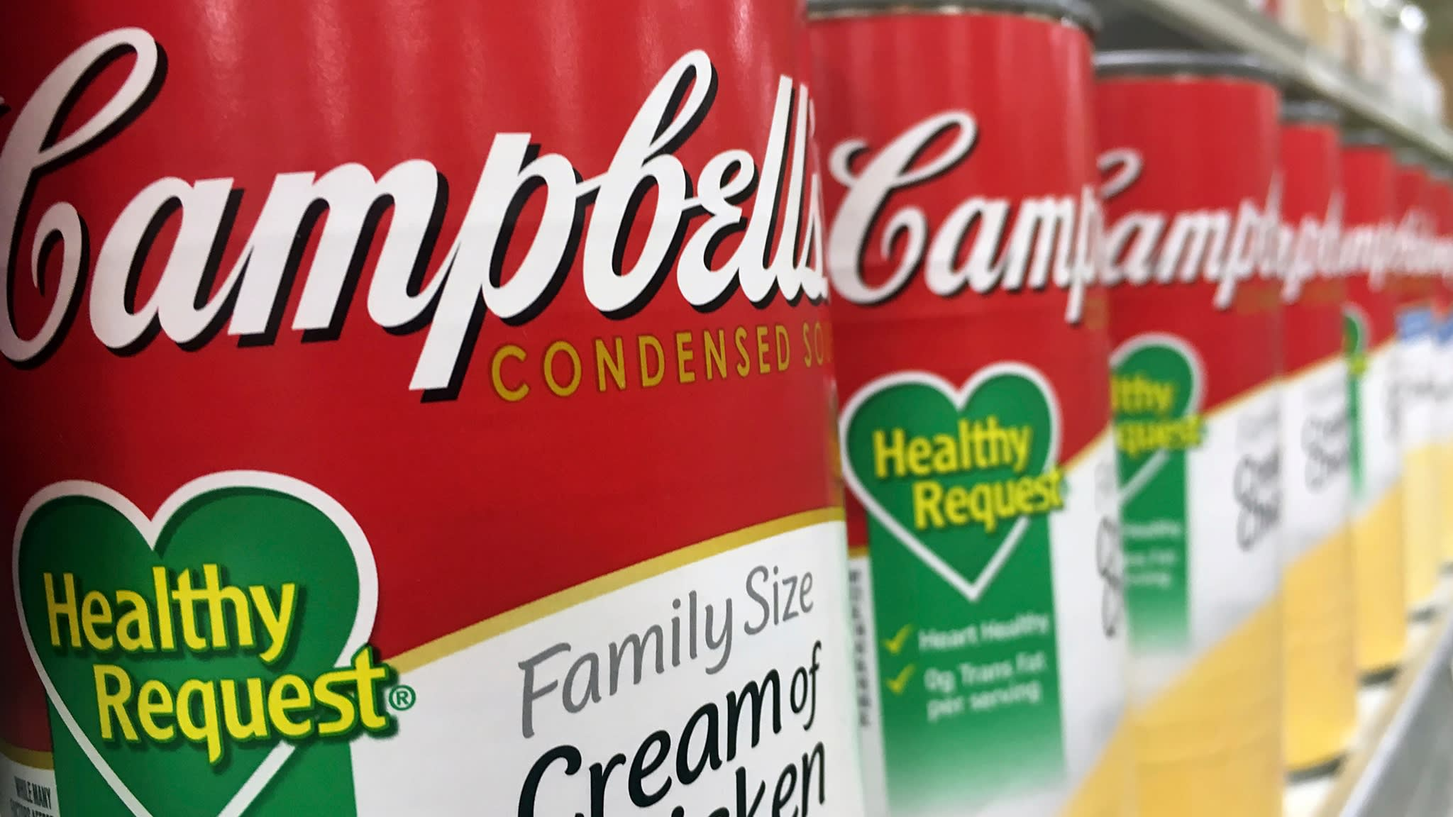 Campbell Soup plots divestment of international business in shake up