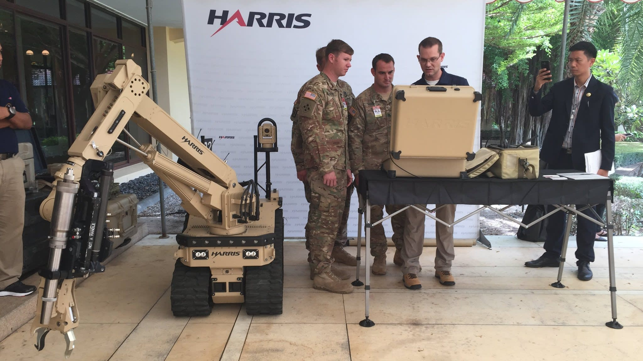 L3 and Harris merge in $33bn all-stock military electronics deal