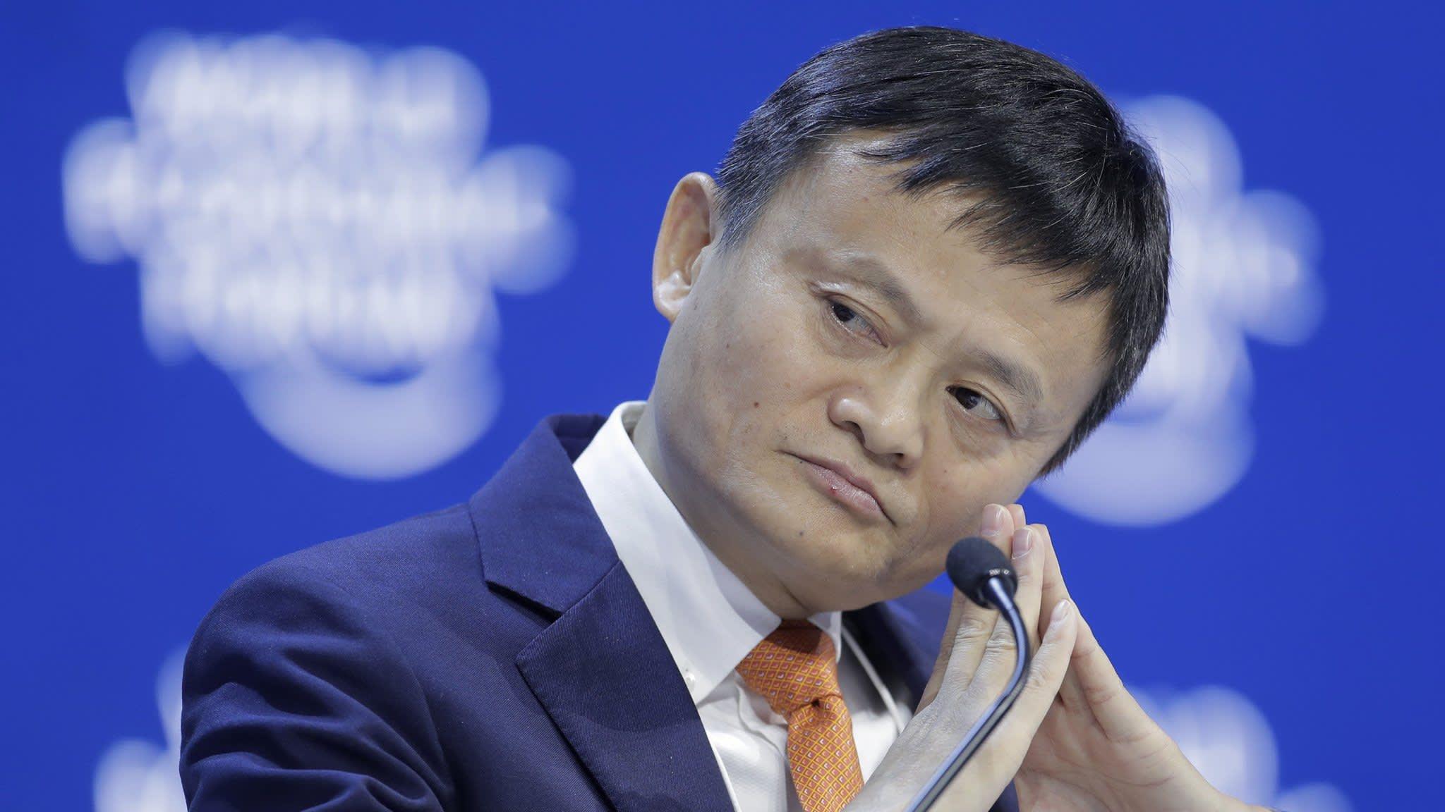 Jack Ma regains title as China's richest man