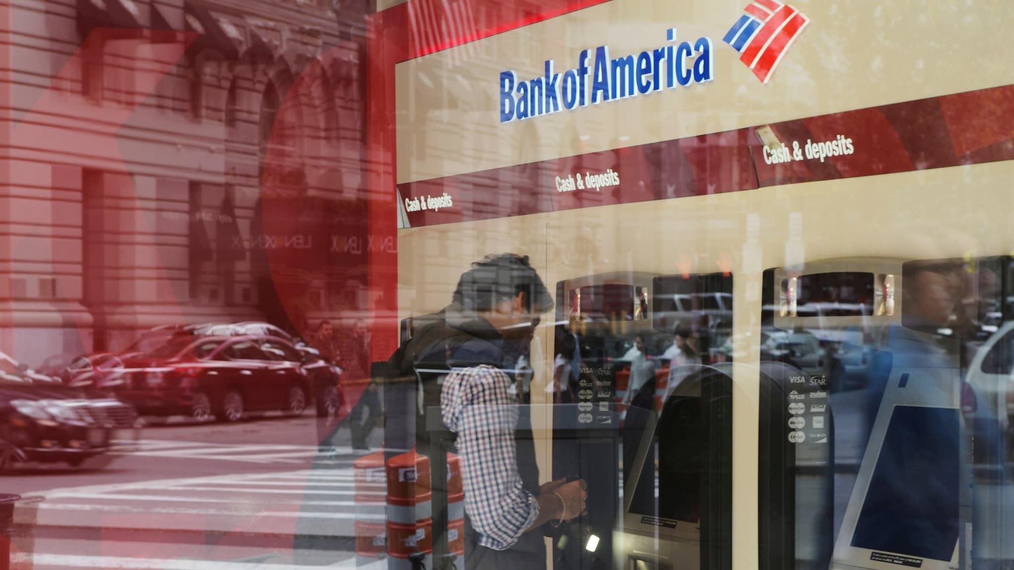 Bank of America profits jump as revenue falls less than feared