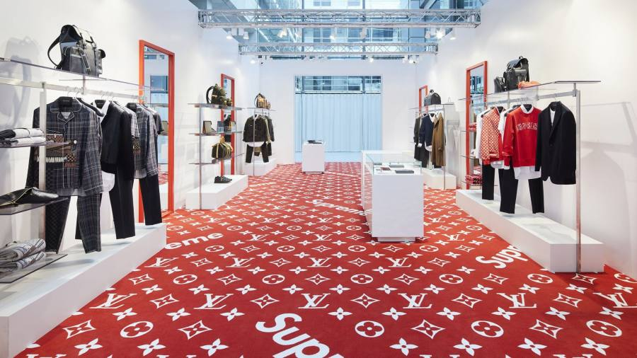 Resellers Pounce On Supreme Louis Vuitton Collaboration Financial Times