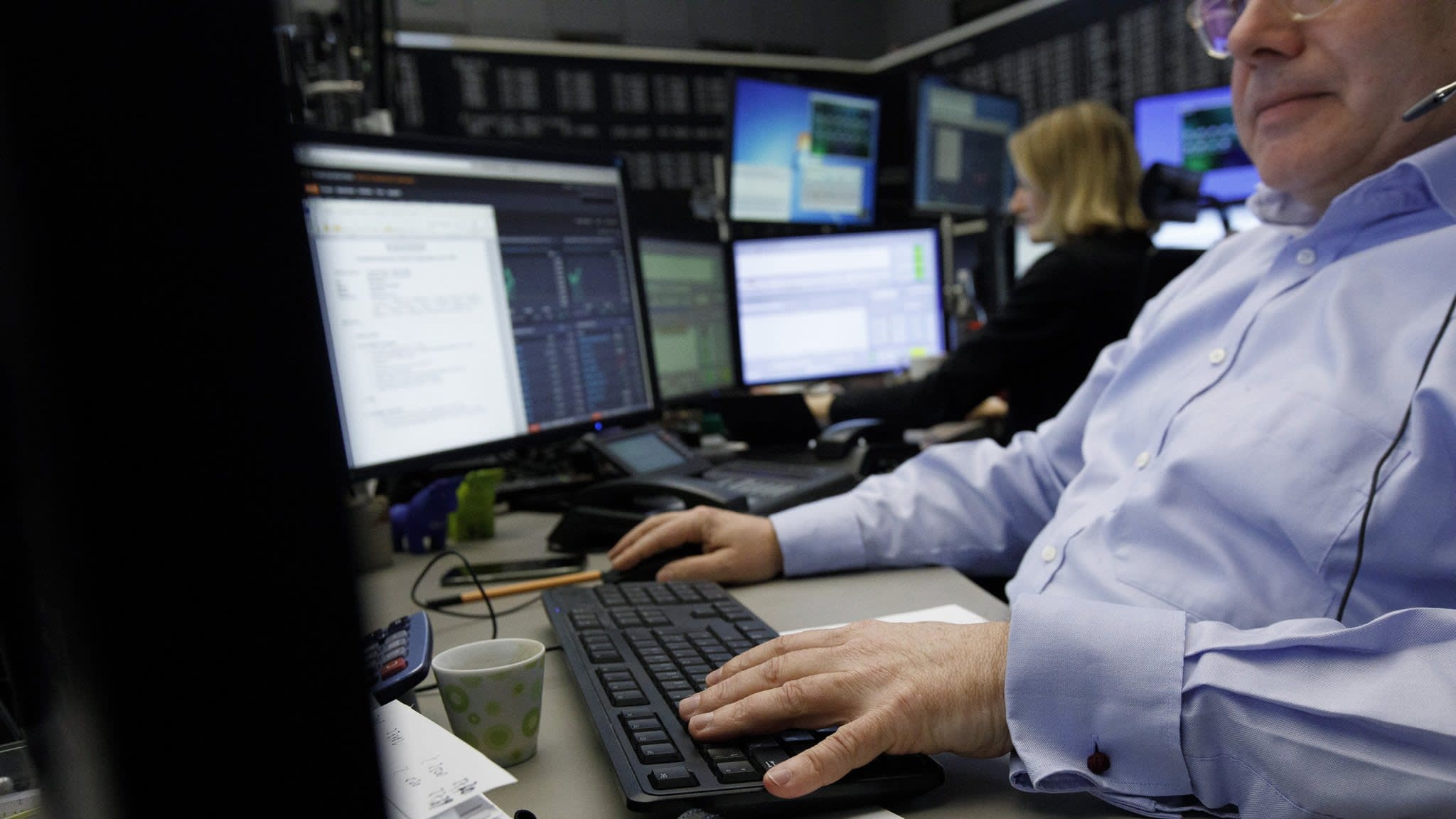 Global trade tension trouble Germany's stock market