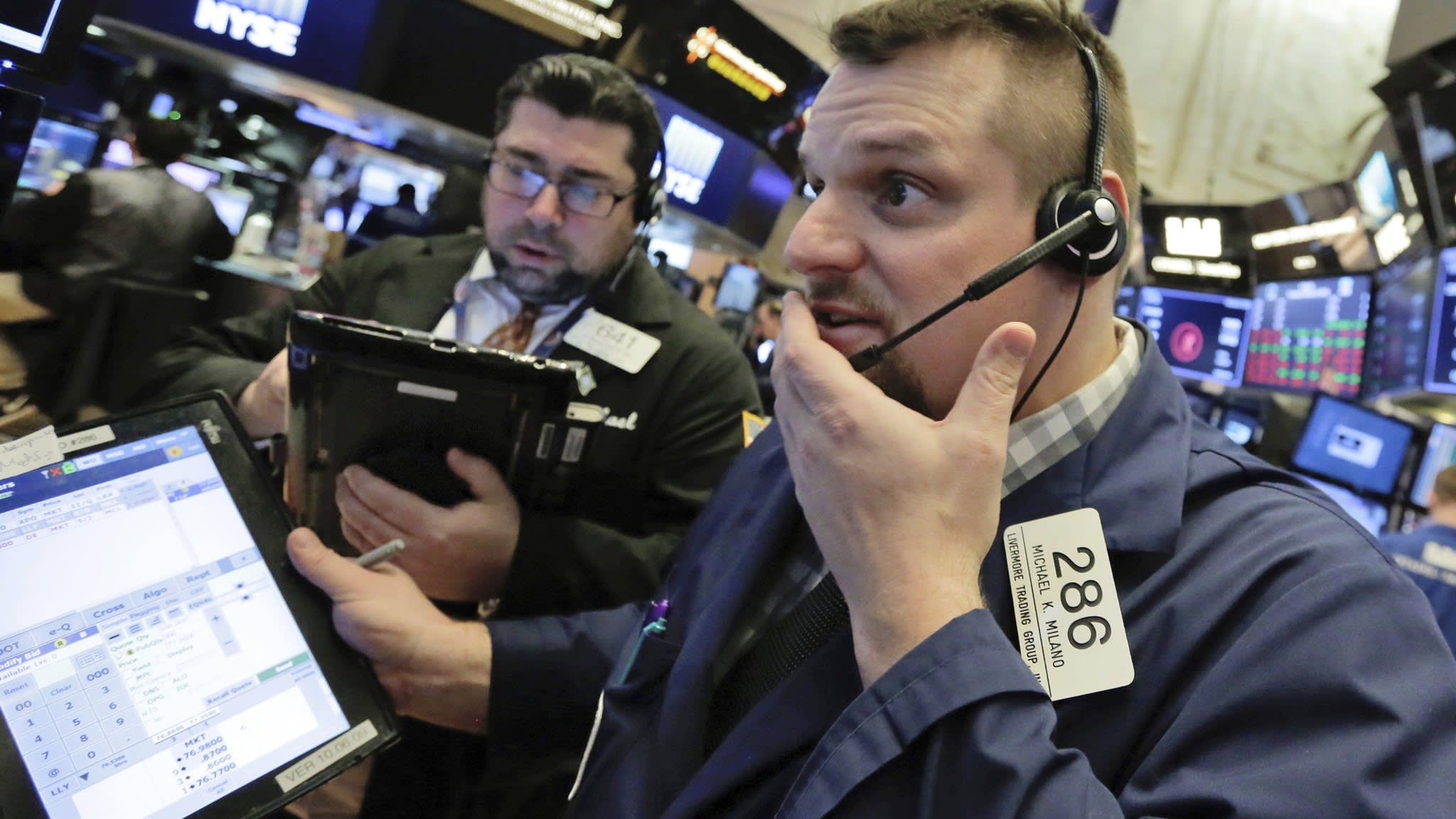 A bit of fear is good for markets