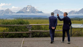Illustration image for: Central bankers rethink everything at Jackson Hole