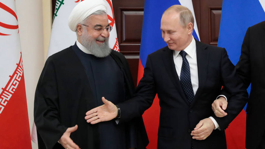 Russia throws weight behind EU effort to bolster Iran ...