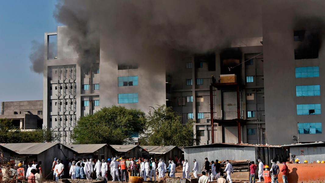 Coronavirus latest: Fire at plant of world's biggest vaccine producer  claims 5 lives | Financial Times