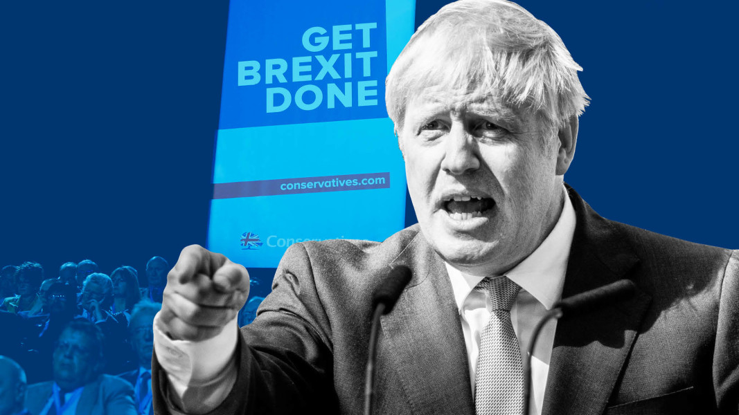 Boris Johnson states support for NPR and buses at Conservative Party Conference