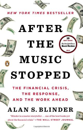 After the Music Stopped by Alan Blinder