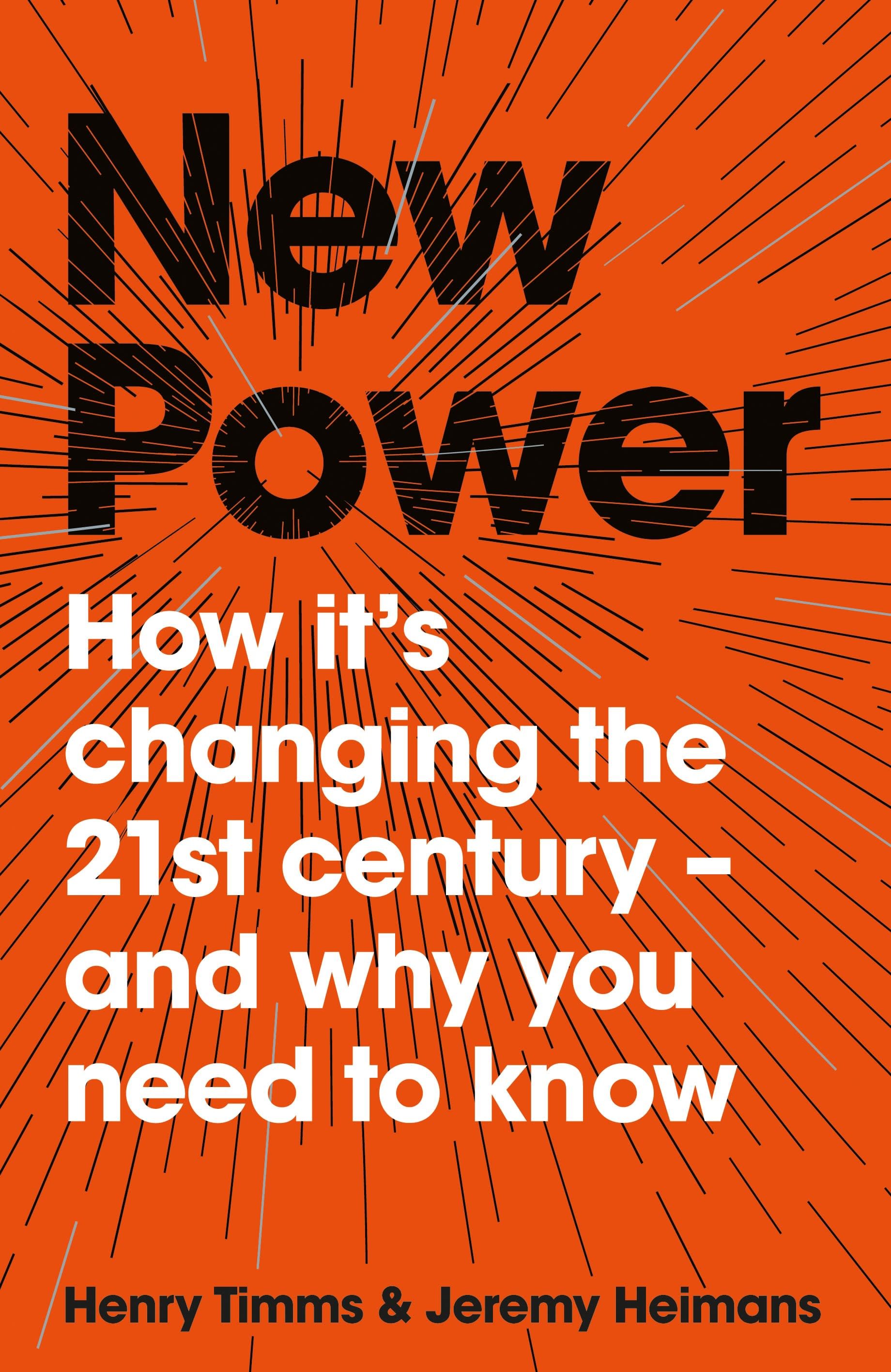 New Power by Jeremy Heimans, Henry Timms