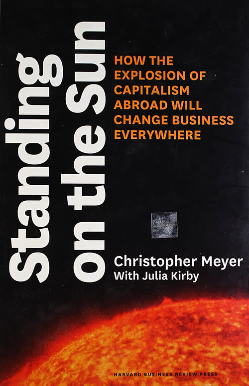 Standing on the Sun by Christopher Meyer, Julie Kirby
