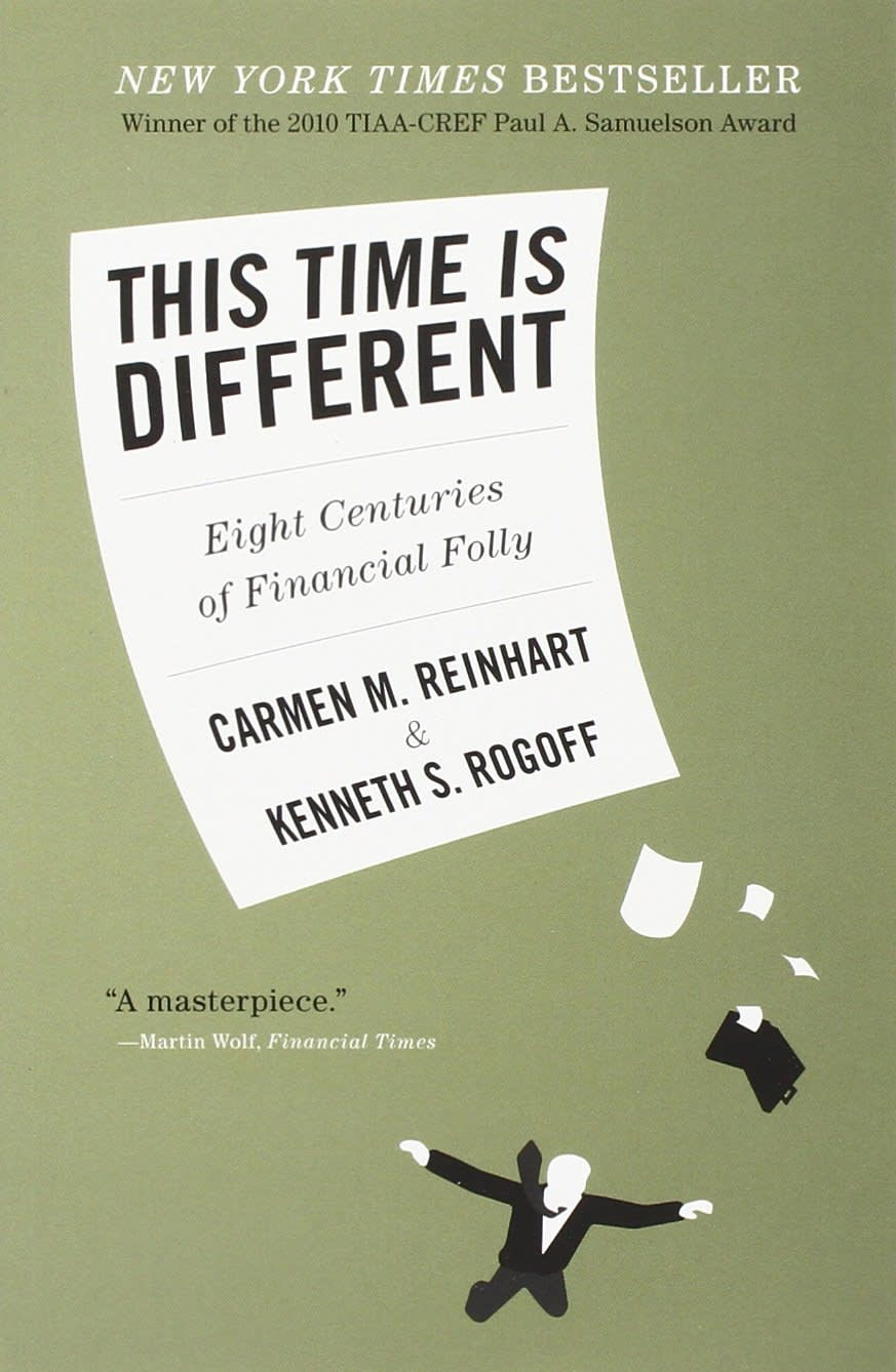 This Time is Different by Carmen Reinhart, Kenneth Rogoff