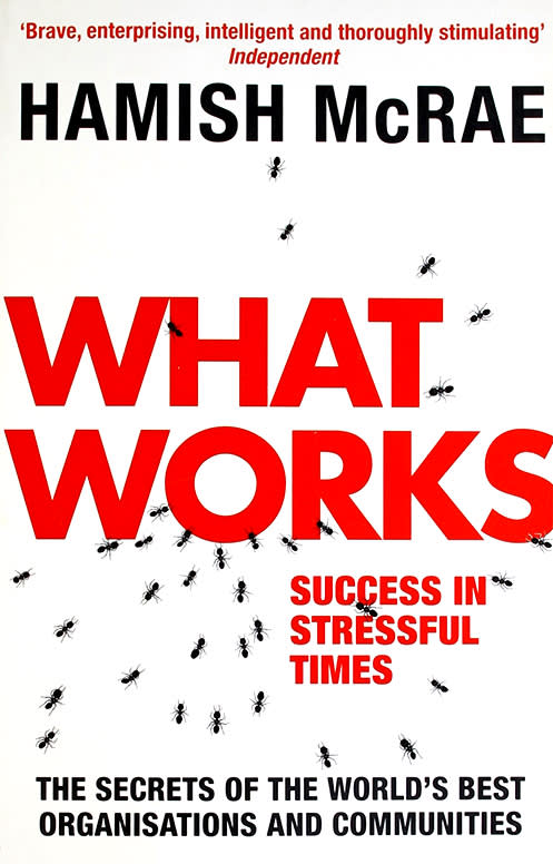 What Works by Hamish McRae