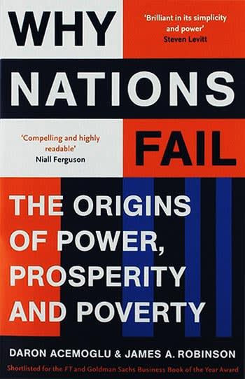 Why Nations Fail by Daron Acemoglu, James Robinson