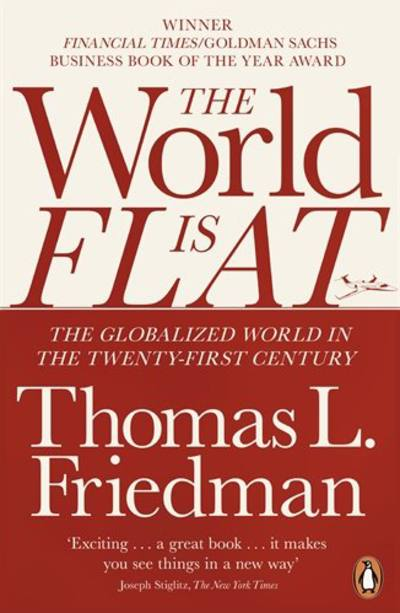 Business Book Cover Questions ~ The world is flat by thomas friedman
