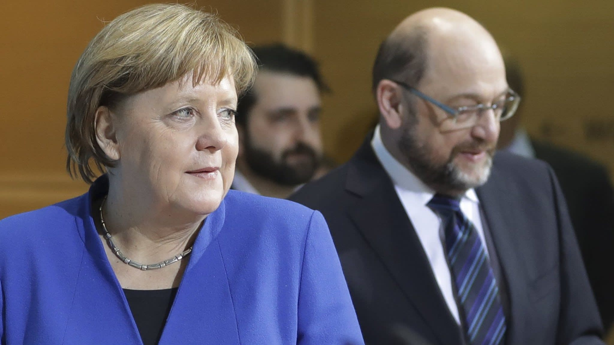 Merkel reaches coalition deal with Germany's Social Democrats