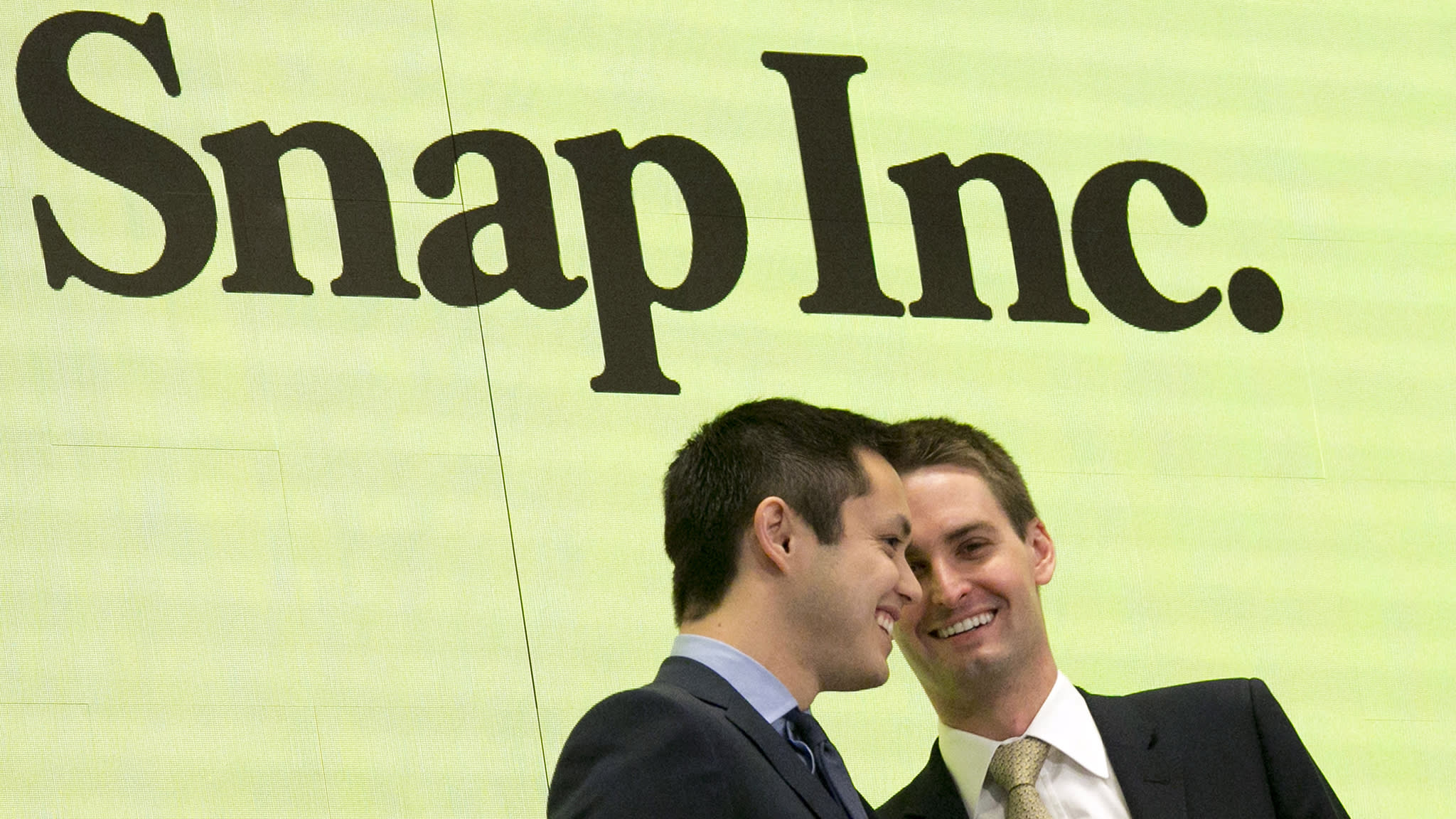Snap beats Wall Street forecasts for the first time