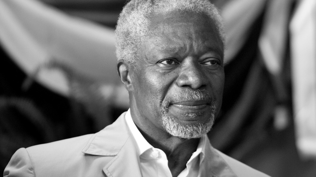 Kofi Annan: a look back at his frankest interview ever