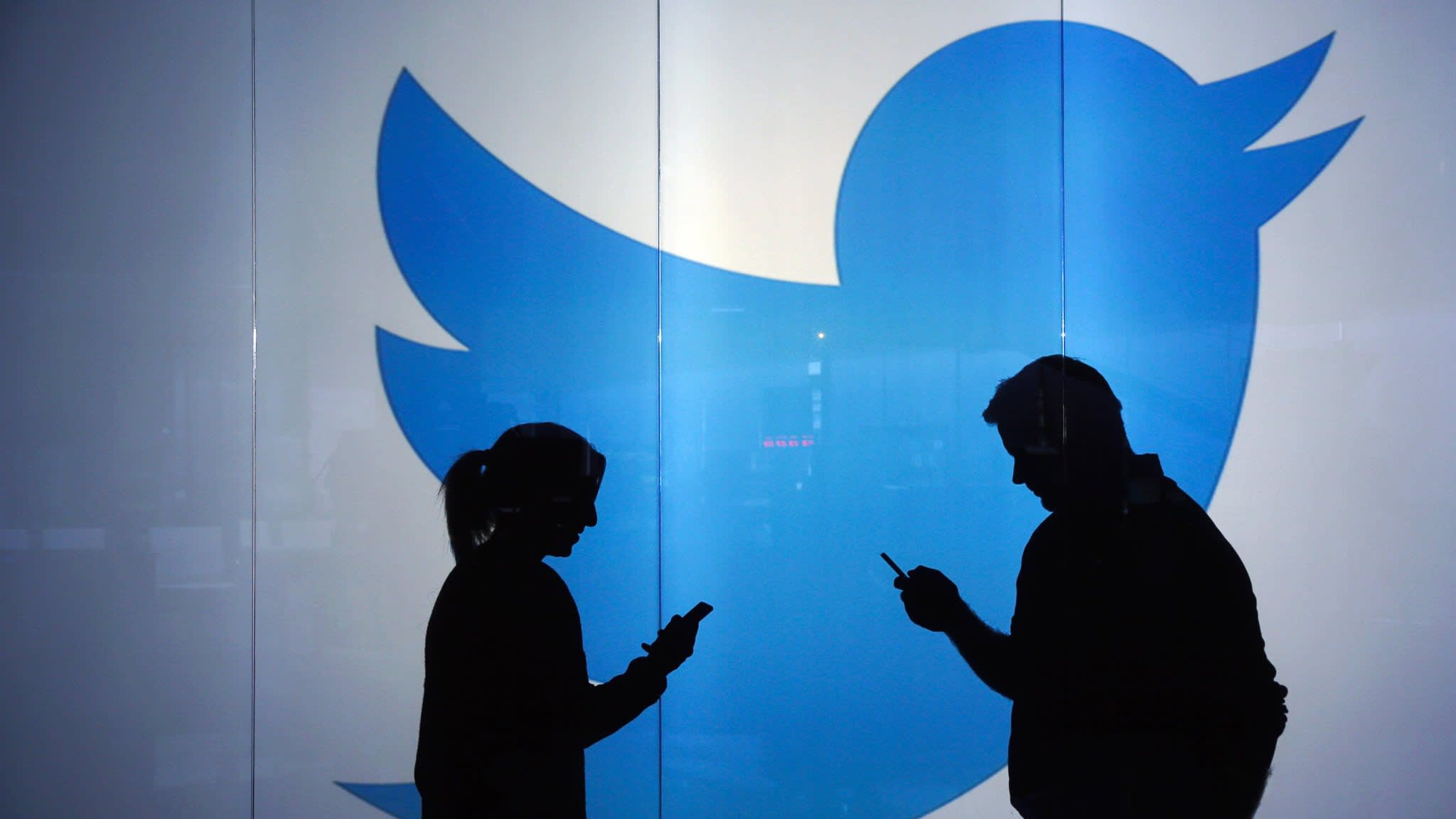 Twitter posts first profit sending shares up almost 30%