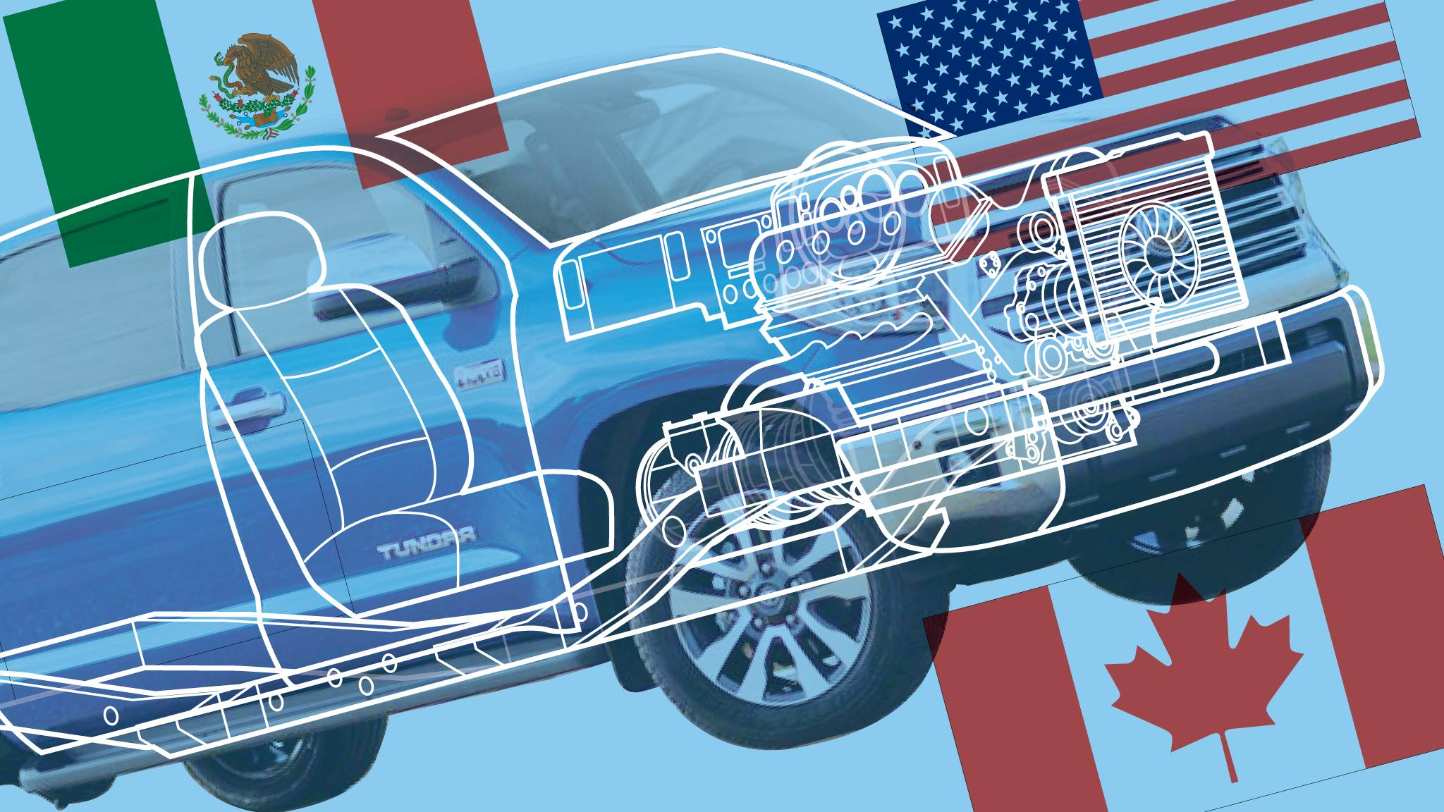 Nafta Why The Us Car Industry Is Trapped In Trump S Trade Crossfire