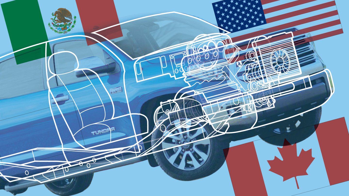 Nafta Why The Us Car Industry Is Trapped In Trumps Trade Crossfire