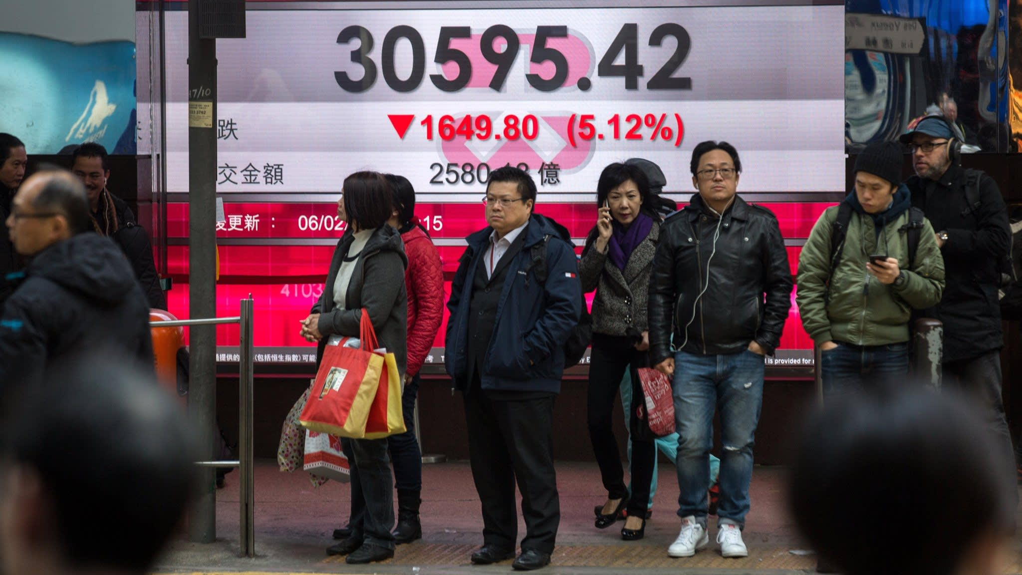 Global stocks sell-off engulfs Asia