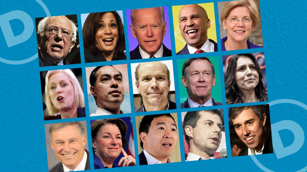 Report Feeds Debate Over Racial >> Us Democratic Primary Debate Who Are The Candidates Financial Times