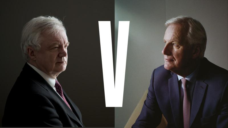 Meet The Brexit Negotiators David Davis And Michel Barnier