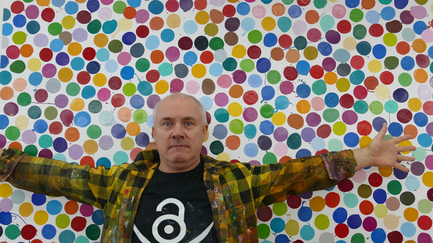 damien hirst article